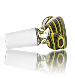 Clint Carpenter 14mm Worked Glass Bowl Slide #10