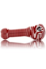 AJ Manager Wig Wag Millie Glass Spoon Pipe (F)