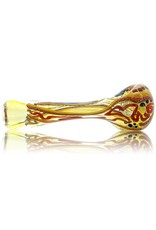 David James David James Small Fume Inside Out  Dichro Glass Spoon (A)
