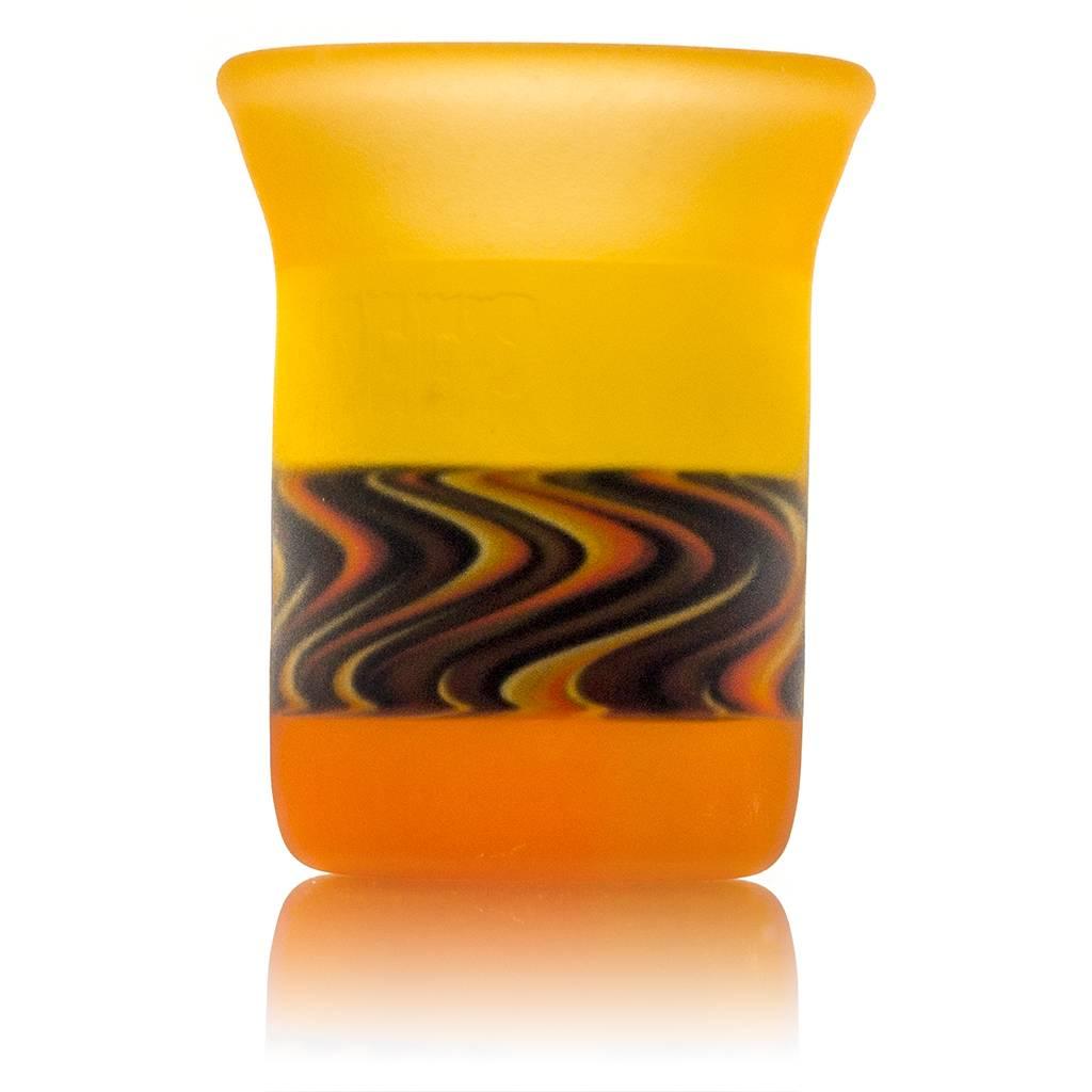 BirdDogg x Chaka BirdDogg x Creep Bird Dab Rig with matching Bubble Carb Cap and ISO jar