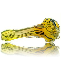 Keith Hickey Keith Hickey Large Fume Inside Out Glass Spoon (B)