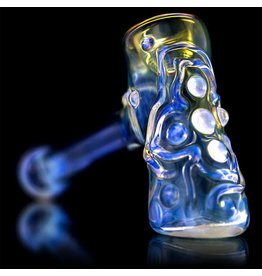 Ginny Snodgrass-Gietl Ginny Snodgrass-Gietl Clear Jewel Glass Hammer Dry Pipe 2