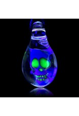 Bob Snodgrass Bob Snodgrass Fume Glass Pendant with UV Accents 1