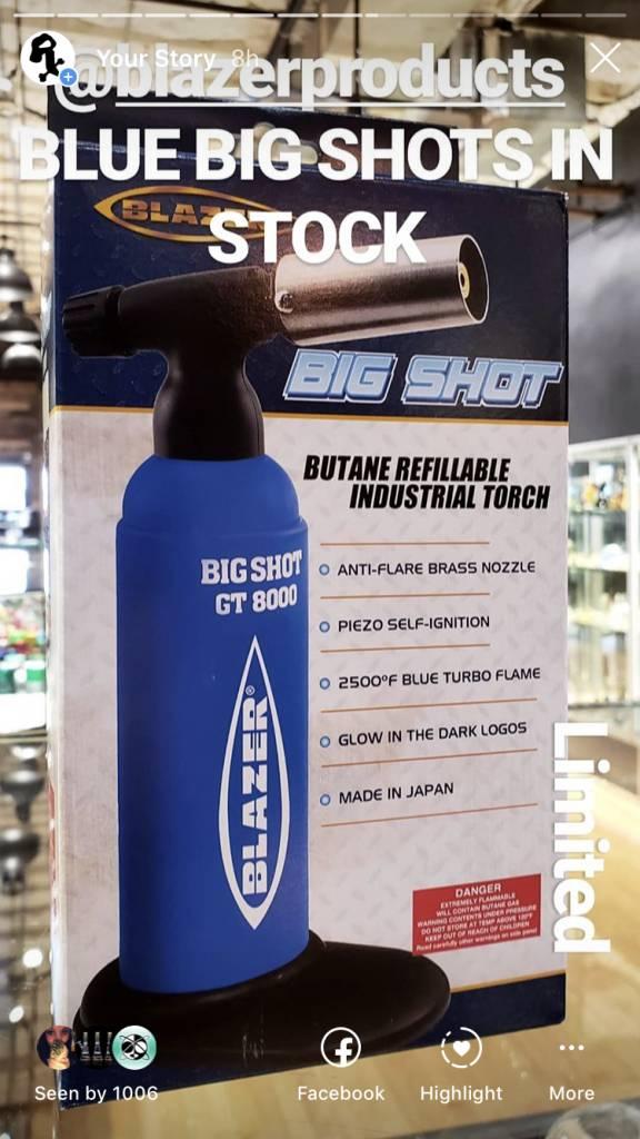 Blazer Blue GT 8000 BIG SHOT TORCH