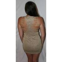 Sparkle Chevron Cocktail Dress