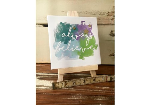 Easel Set - Always Believe