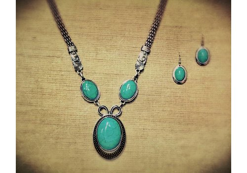 TIFFANY Necklace/Earring Set