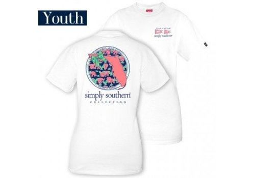 SIMPLY SOUTHERN Youth FL T Shirt