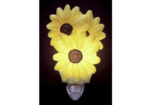 Ibis Orchid Design Black Eyed Susan Night Light