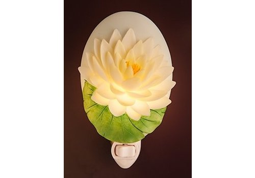 Ibis Orchid Design Water Lily Night Light
