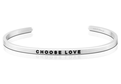 MantraBand Choose Love - Silver