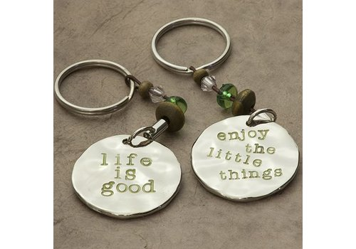 Token Keychain - Life is Good