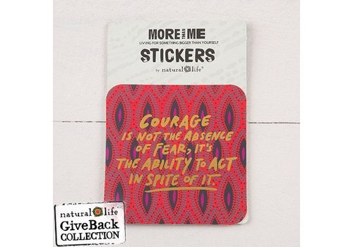 Sticker - Courage