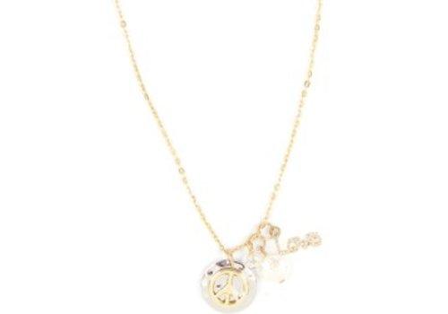 Necklace Dangle Peace
