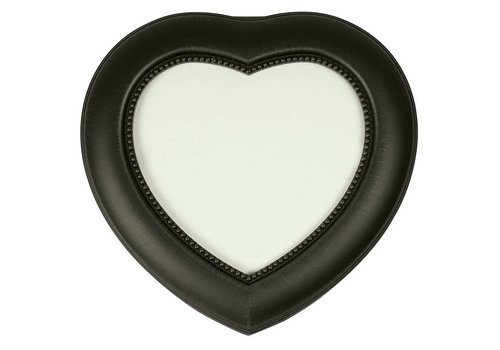 Heart Antique Black Music Box