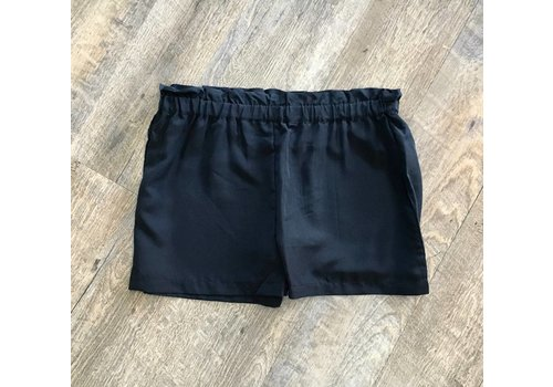 MUD PIE Delaney Shorts Black XS