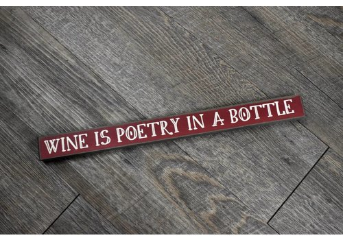 Wine is Poetry