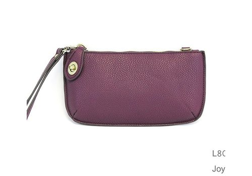 Plum Crossbody Clutch