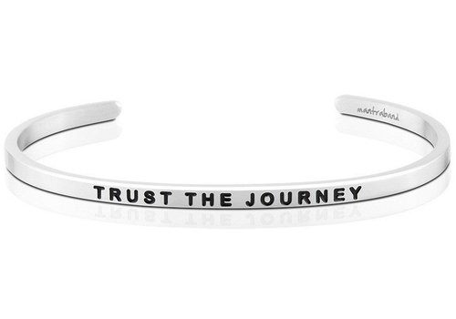 Trust The Journey Mantraband