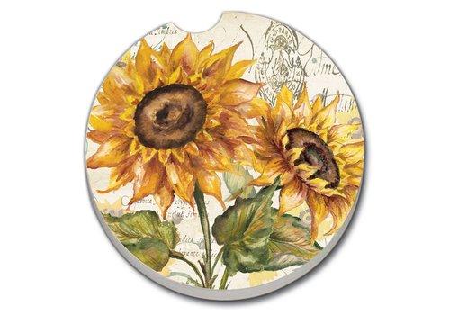 Sunflower Car Coaster
