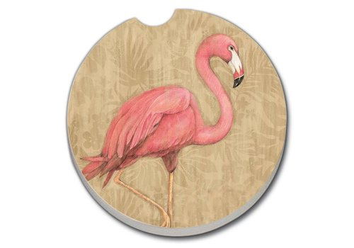 Flamingo Car Coaster