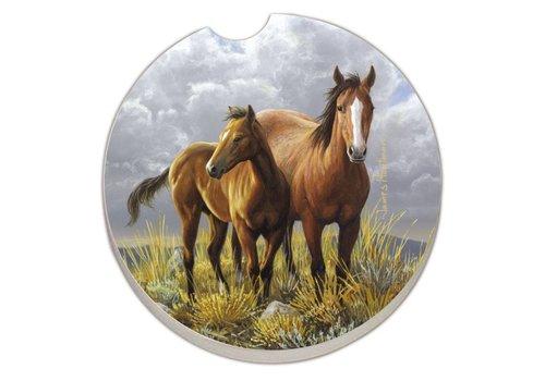 Horse Car Coaster