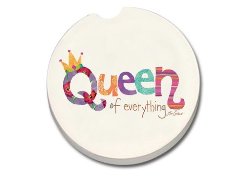 Queen of Everything Car Coaster