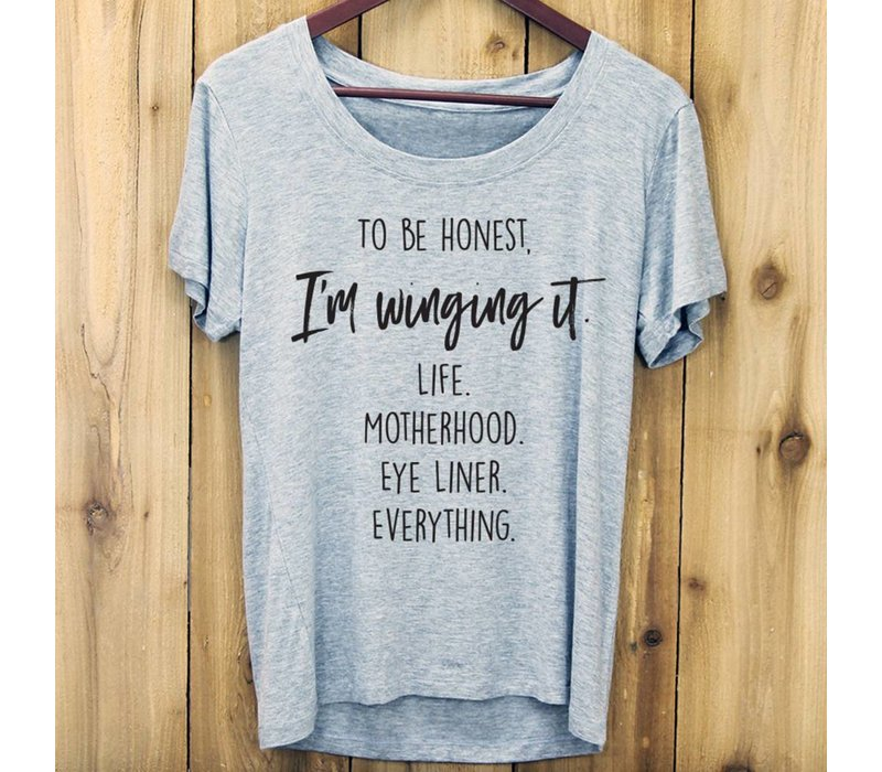 Winging It T Shirt, Medium