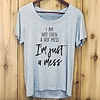 Hot Mess T Shirt, Medium