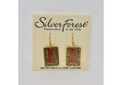 Antique Layered Dangle Earrings