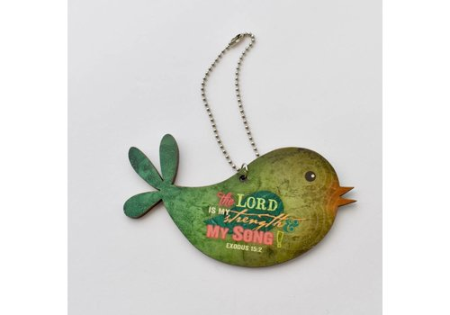 Bird Car Charm