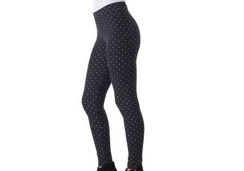 Dylan Legging White Mini Dot