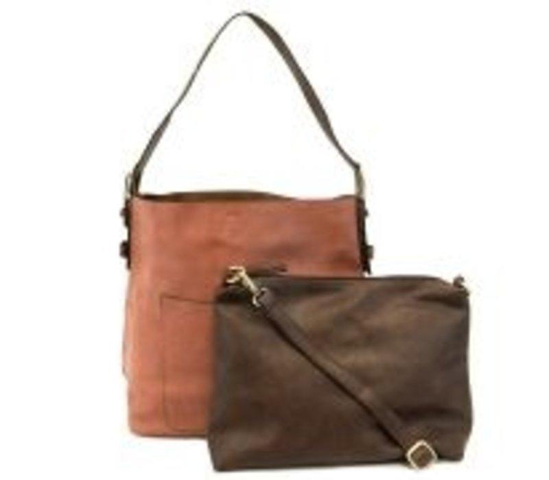 Loewe sling knit-trim hobo bag womens beige 2a7dbc15ddead