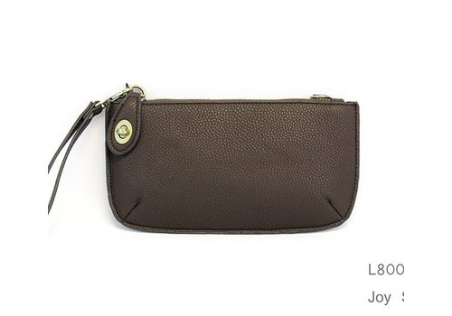 Chocolate Crossbody Clutch