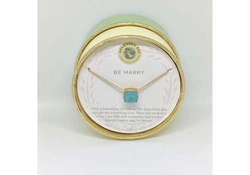 SPARTINA Be Marry/Something Blue Sea La Vie Necklace