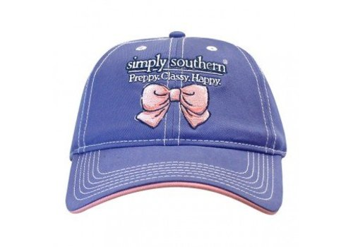 SIMPLY SOUTHERN Happy Hat Periwinkle