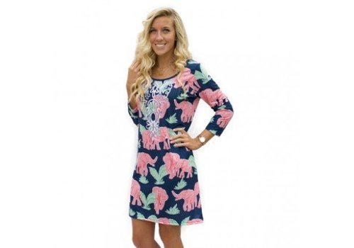 SIMPLY SOUTHERN Safari Scoop Dress