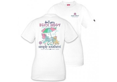 SIMPLY SOUTHERN Don't Worry Beach Happy T Shirt