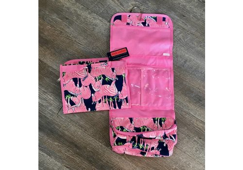 SIMPLY SOUTHERN Zebra Toiletry Bag