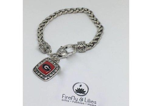 GA Bulldogs Bracelet