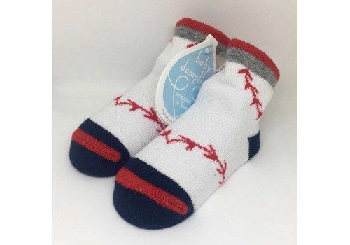Baby Dumpling Baseball Socks