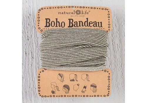 Cream Tinsel Boho Bandeau