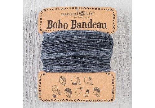 Grey Tinsel Boho Bandeau