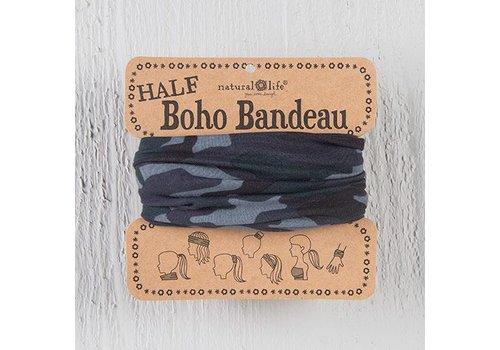 Navy Camo Half Boho Bandeau