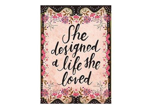 Life She Loved Art Print