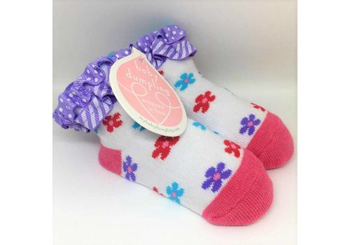 Baby Dumpling Little Flowers Socks