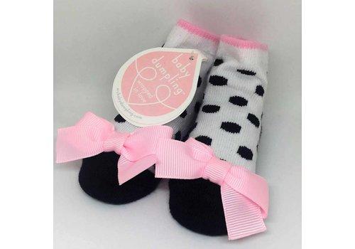 Baby Dumpling polka dot socks