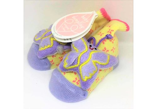 Baby Dumpling Flutterbye Socks