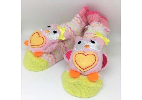 Baby Dumpling Owl Socks