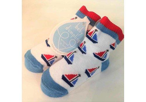 Baby Dumpling Sailboat Socks